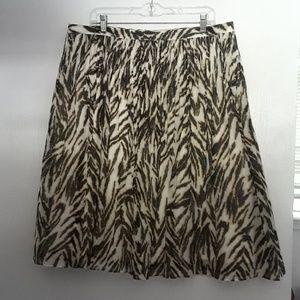 TALBOTS cotton skirt